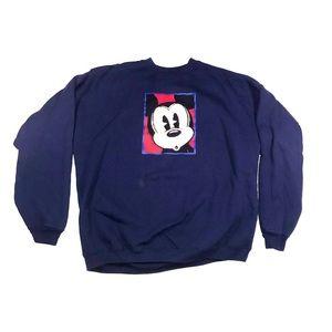 Vintage Disney Store Mickey Mouse crew neck 1990s